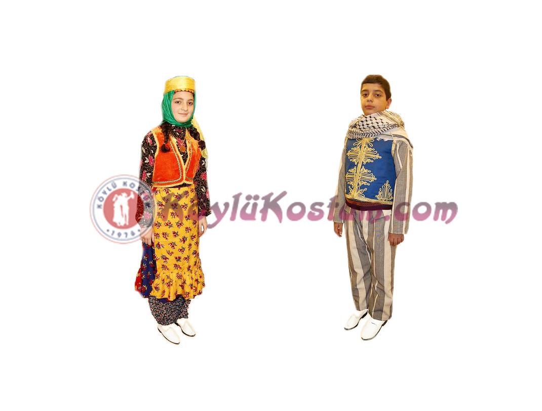 Bitlis Yöresel Kıyafetler
