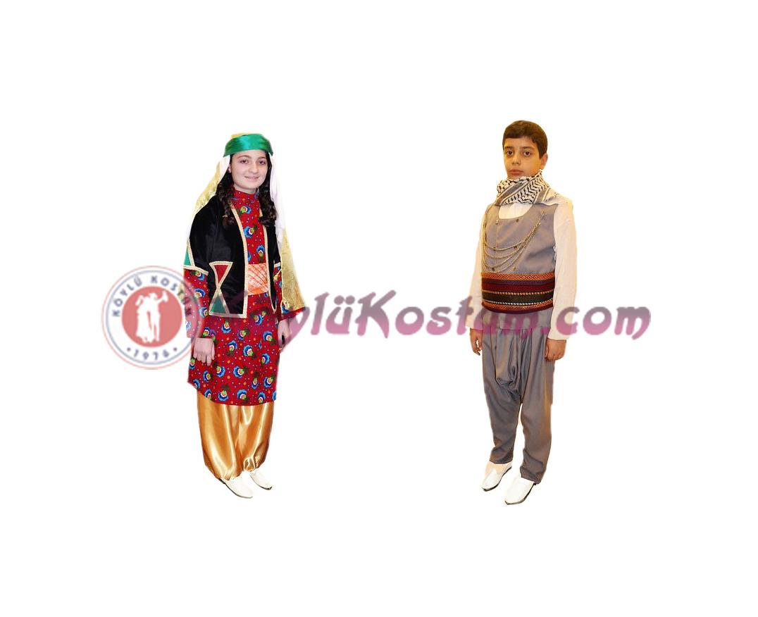 Diyarbakır Yöresel Kıyafetler