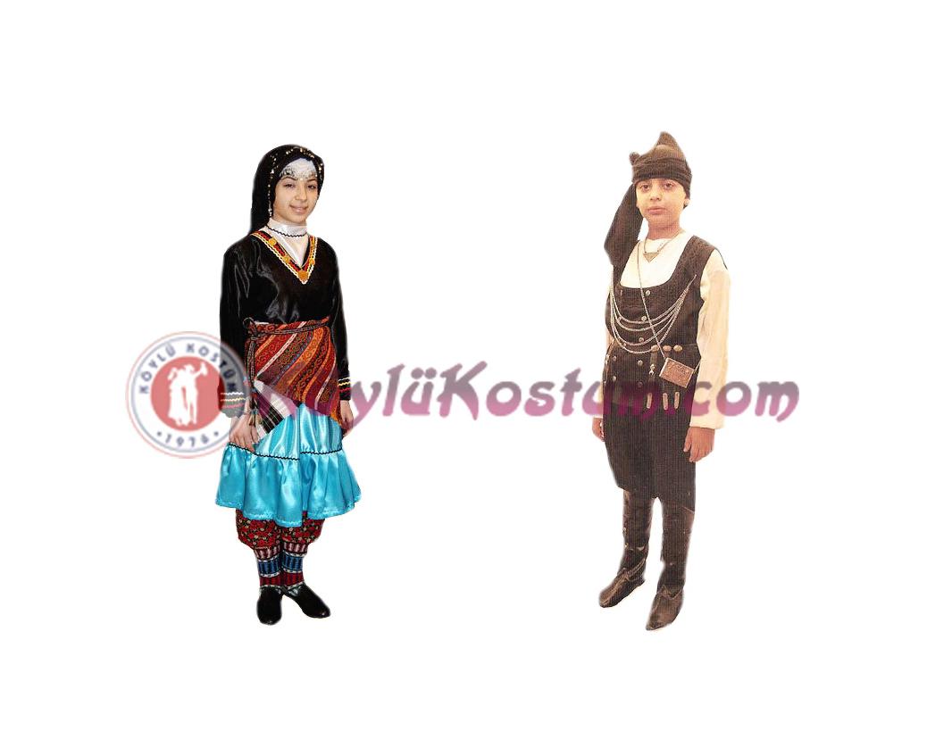 Karadeniz Yöresel Kıyafetler