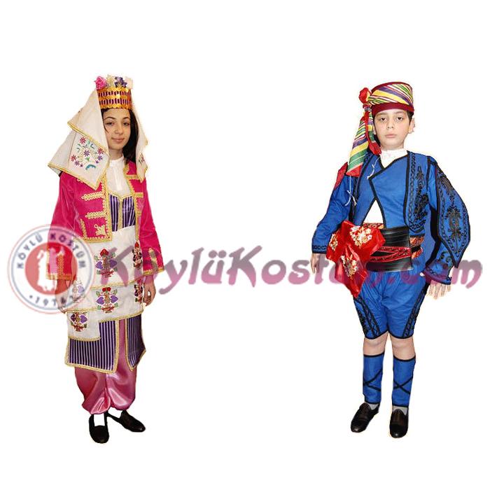 Zeybek Yöresel Kıyafetler